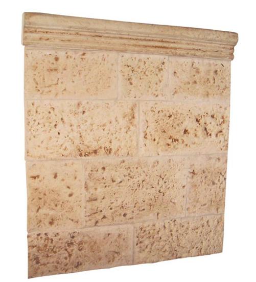 Revestimiento medieval barbacoas y piedra artificial - Revestimiento de paredes imitacion piedra ...