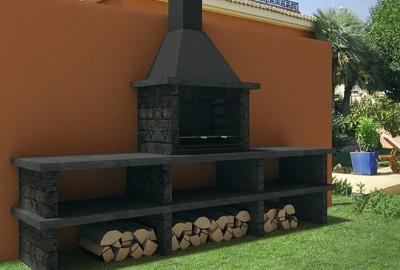 Cocinar asado argentino en barbacoas prefabricadas for Barbacoas prefabricadas