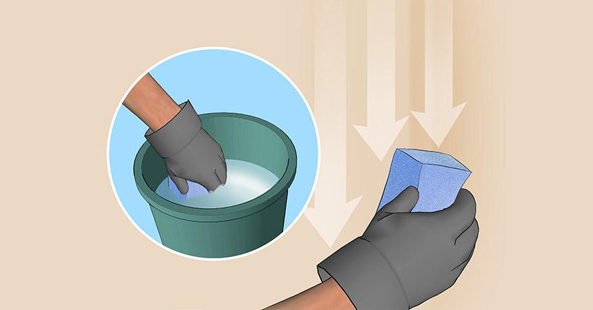 Eliminar el holl n de una barbacoa de obra barbacoas y - Limpiar piedra artificial ...