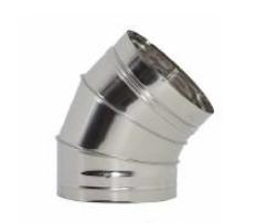 Codo inox de 45º diámetro 200mm